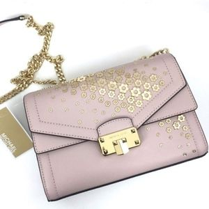Michael Kors Kinsley Set Porcini Bag & Wallet